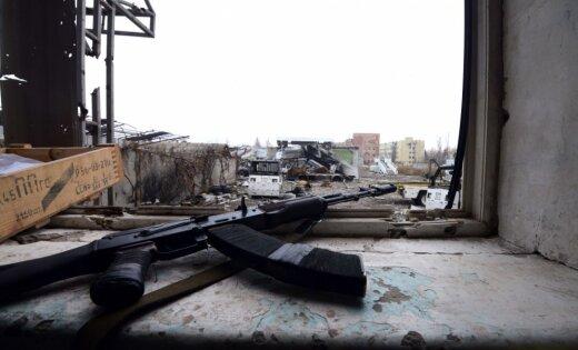 Ukrainas spēki ieņēmuši jaunas pozīcijas