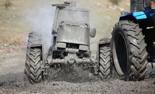 'Traktori, uz starta!' Dažādās traktoru sacensības pasaulē un Latvijā