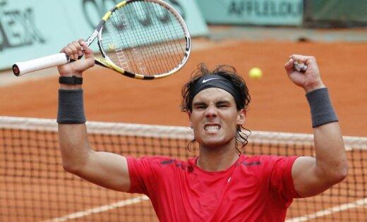 Nadals septīto reizi triumfē 'French Open'