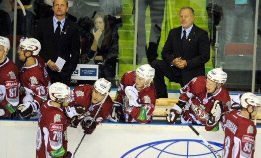 Rīgas 'Dinamo' uzbrucējs Lundmarks: mums kaut kas ir jāmaina