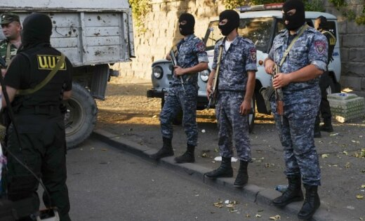 Полицейский умер впроцессе стрельбы вЕреване