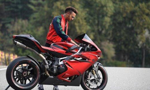 Hamiltons un 'MV Agusta' kopīgi radījuši speciālu motociklu