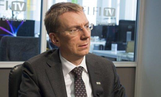 Эдгар Ринкевич на Delfi TV: про Сирию, Россию и связь травли секс-меньшинств с эмиграцией из Латвии