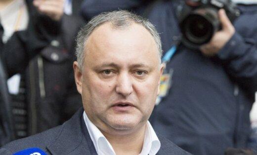 Президент Молдовы отказался от денег Евросоюза