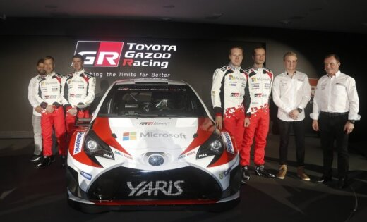 'Toyota' WRC komanda pārceļ ofisu uz Tallinu