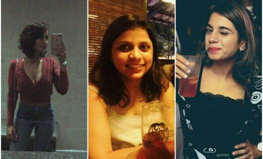 Foto: Selfijs pēc pusnakts – Indijas sievietes iesaistās drosmīgā akcijā