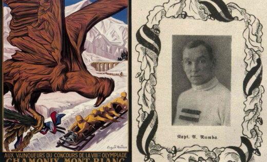 Latvijas sporta vēsture: Alberts Rumba – par Latviju pirmajās ziemas olimpiskajās spēlēs
