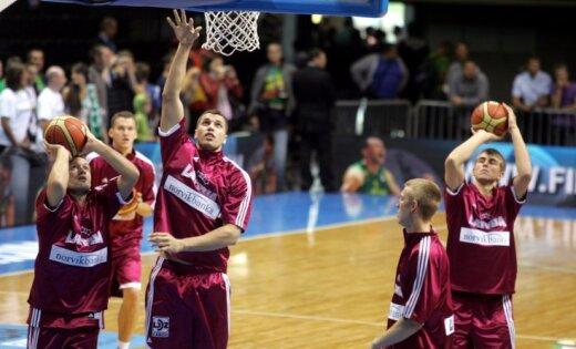 Latvijas vīriešu basketbola izlase EČ kvalifikācijas turnīra spēlē uzņem Nīderlandi