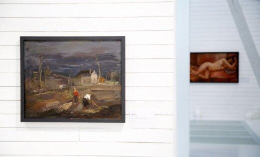 LNMM atklāta trimdas latviešu mākslas leģendas Frīdriha Milta izstāde