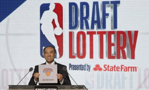 NBA drafta loterijā uzvar 'Suns'; Porziņģa 'Knicks' tiek pie devītā numura