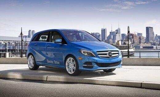 Tikai četrus gadus pēc debijas 'Mercedes' pārtrauc sava elektromobiļa ražošanu
