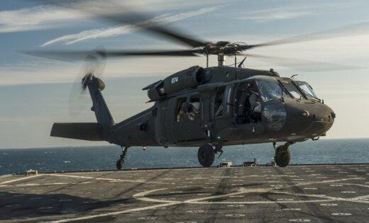 США перебросили вЛатвию 5  вертолётов Blackhawk