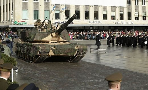 Парад войск НАТО прошел поэстонской столице вДень независимости страны