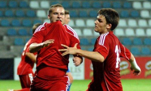 'Skonto' futbolisti Ziemas kausā pārspēj Rīgas 'Daugavu'