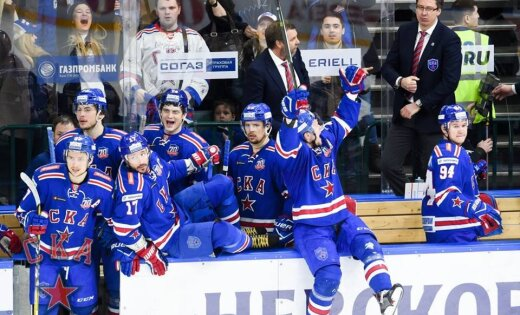 СКА победил «Динамо» ивышел вполуфинал плей-офф КХЛ