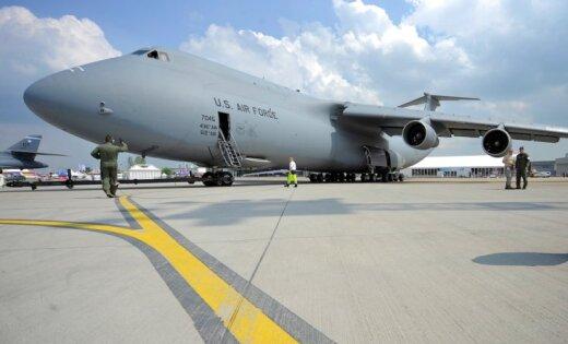В Риге ждут грузовой самолет размером с футбольное поле