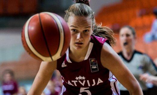 Latvijas U-16 basketbolistes zaudē mačā par Eiropas čempionāta bronzu