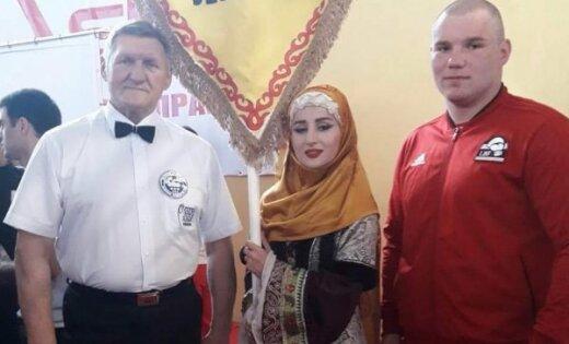 Латвийский боксер-супертяжеловес увез серебряную медаль из Дагестана