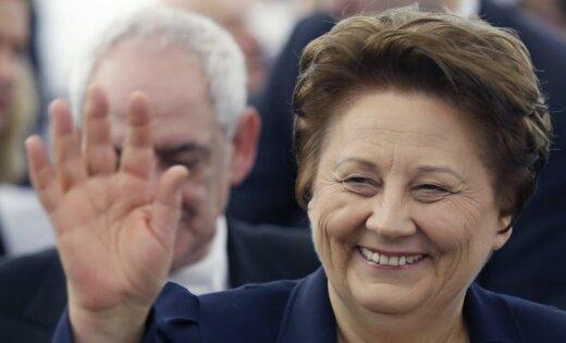Страуюма: Латвия поддерживает размещение миротворческих сил ООН на Украине