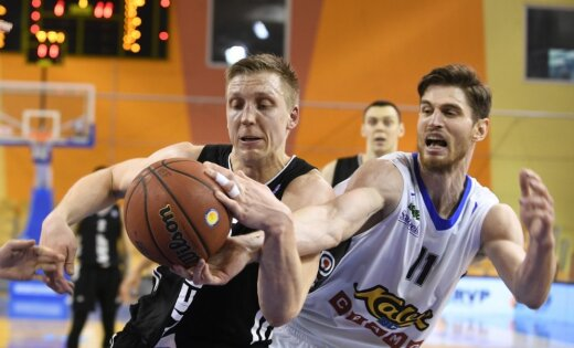 Principiāli vienojas par apvienotas Latvijas un Igaunijas vīriešu basketbola līgas izveidošanu