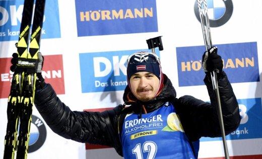 Шипулин выиграл спринт в Контиолахти у Расторгуева — подиум