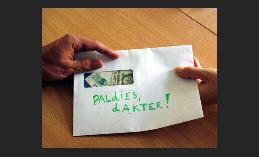 VID: ārstiem saņemtie dāvinājumi nav jādeklarē