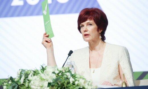 Āboltiņa grib kļūt par Latvijas vēstnieci ārvalstīs, vēsta LTV