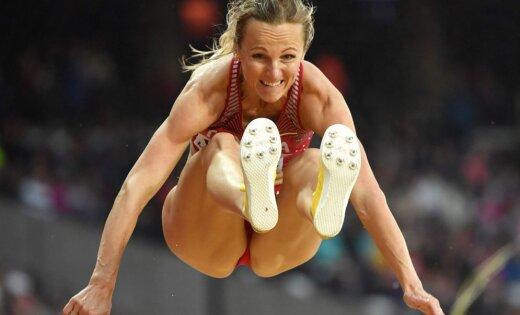 Ай да Грива! Латвийская легкоатлетка пробилась в финал чемпионата мира