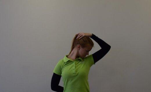 Vingrojumi jaunajām un topošajām mammām muguras sāpju un plecu joslas saspringuma mazināšanai