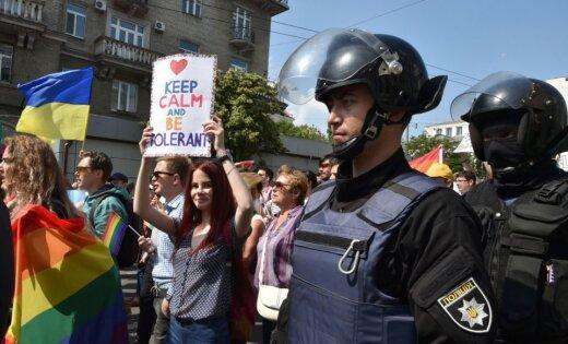 Kijevas praidā piedalās 2500 cilvēku un 5000 policistu