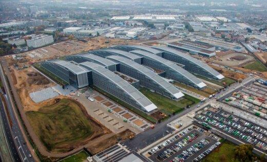 На месте строительства штаб-квартиры НАТО нашли неразорвавшиеся бомбы
