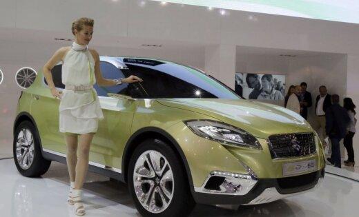 Париж-2012: Suzuki S-Cross ворвался на рынок кроссоверов