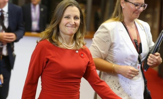 Par Kanādas ārlietu ministri kļūst Kremļa kritiķe un Krievijā nevēlama persona