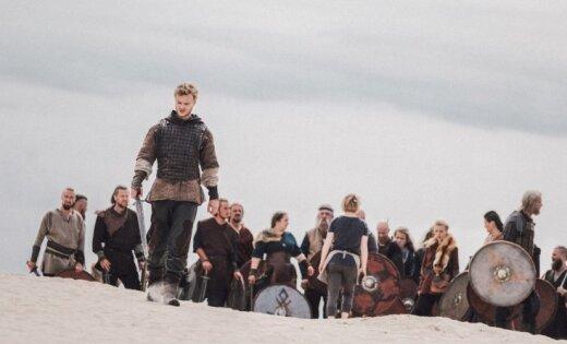 Foto: Filmas 'Nameja gredzens' Lielās kaujas masu skatu filmēšana