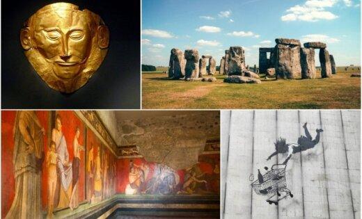 No Stounhendžas līdz Banksijam. Astoņas mākslas vēstures mistērijas