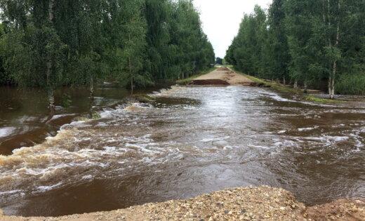 В августе дожди и наводнения причинили ущерб в размере 4,38 млн евро