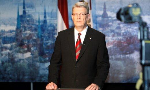 Valsts prezidenta Valda Zatlera paziņojums Latvijas tautai