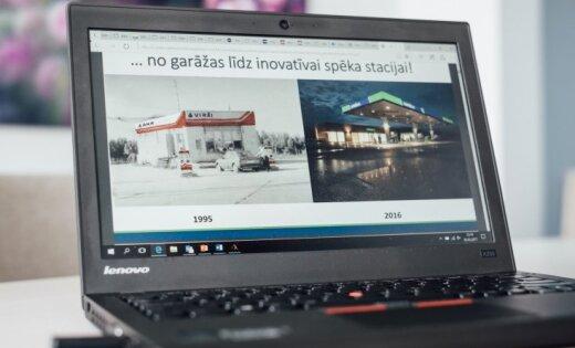 Латвия может! Не боясь перемен, сеть АЗС существенно наращивает оборот
