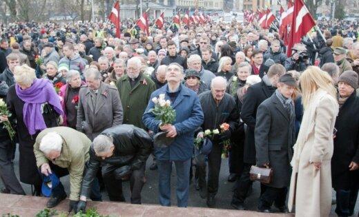 16.marta pasākumi: Mūrniece dosies uz Lesteni; Rasnača plāni neskaidri