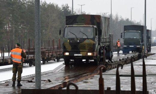 Германия отправила вЛитву танки иБМП