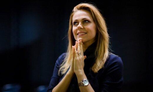 Foto: Opermūzikas zvaigzne Kristīne Opolais viesojas dzimtajā Rēzeknē