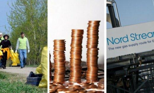 21 апреля. Большой субботник, повышение акцизов, отказ Латвии от участия в Nord Stream 2