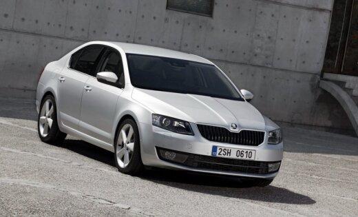 'Škoda' oficiāli atklāj jauno 'Octavia'