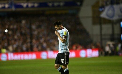 Аргентина опустилась нашестое место вотборочной группеЧМ
