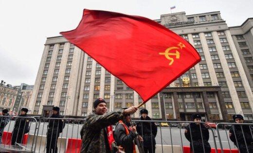 Посла Литвы вГермании возмутила акция «большевиков» вБерлине