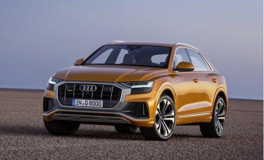 'Audi' prezentējis savu visgreznāko apvidus auto 'Q8'