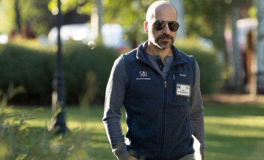 No bēgļa par tehnoloģiju superzvaigzni – kas ir jaunais 'Uber' šefs Kosrovšahi