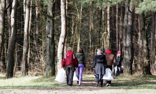 Lielā talka norisināsies aptuveni 1500 vietās visā Latvijā