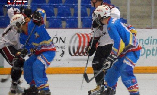 Latvijas skrituļhokeja izlasei septītā vieta pasaules čempionātā