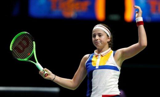 Елена Веснина стартовала спобеды натеннисном турнире вСиднее